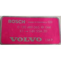 Sticker dynamo Bosch 55 Ampere Volvo B19 B21