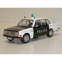 Volvo 144 1970 Police Vaudoise IXO 1:43