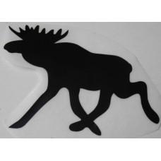 Sticker eland 200 x 140 zwart