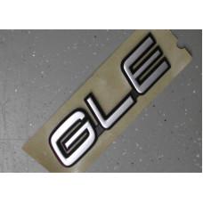 Embleem GLE Volvo 850 zilvergrijs / mat