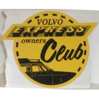 Sticker Volvo Express Owners Club
