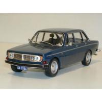 Volvo 144 1971 donkerblauw IXO 1:43