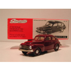 Volvo PV444 A 1946 bordeaux rood Somerville #121 1:43