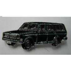 PIN Volvo 145 donkergroen
