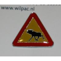 PIN Eland verkeersbord
