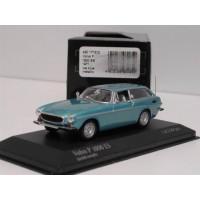Volvo P1800ES 1971-1973 lichtblauw met. Minichamps 1:43