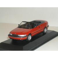 SAAB 900 Cabrio rood 1995 Minichamps