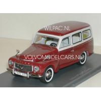 Volvo P210 PV445 Duett rood/grijs NEO 1:43