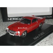 Volvo P1800 1963 Jensen rood Norev 1:43