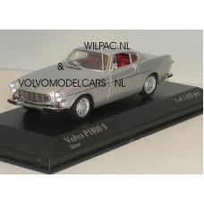 Volvo P1800 1969 zilvergrijs met. Minichamps 1:43
