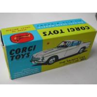 Doos Volvo P1800 Corgi Toys Saint 258 1:43 REPRO en leeg