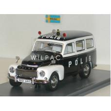 Volvo P210 PV445 Duett 1956 Polis / Zweedse Politie Neo 1:43
