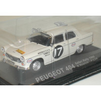 Peugeot 404 East Africa Safari Rally 1968 Atlas Altaya 1:43