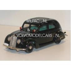 Volvo PV36 Carioca 1935 zwart - Zweedse Politie Rob Eddie RE12 1:43