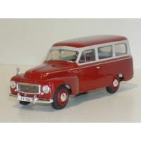 Volvo PV445 Duett 1957 rood/grijs André 1:43