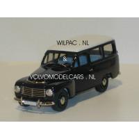 Volvo PV445 Duett 1953 blauw/grijs Rob Eddie RE07A 1:43