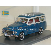 Volvo P210 PV445 Duett 1956 blauw/grijs NEO 1:43