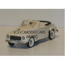 Volvo PV445 1953 Valbo cabrio crème Somerville KIT #138 1:43