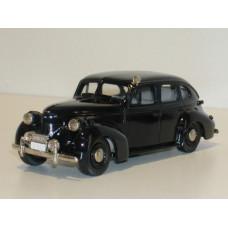 Volvo PV60 1950 Polis = Politie donkerblauw Rob Eddie RE05x 1:43