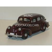 Volvo PV60 1950 donkerrood Rob Eddie RE05 1:43