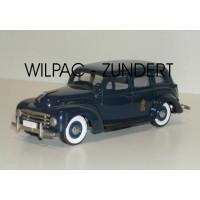 Volvo PV831 1950 Zweeds koningshuis donkerblauw Rob Eddie RE04 1:43