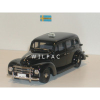 Volvo PV831 1950 Taxi zwart Rob Eddie RE04A 1:43