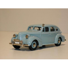 Volvo PV60 1950 Polis Zweedse Politie lichtblauw Rob Eddie RE05z 1:43