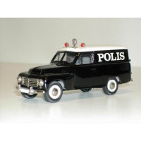 Volvo PV445 Duett 1953 Polis Zweedse Politie Rob Eddie RE08a 1:43