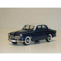 Volvo Amazon 1957 4 deurs donker blauw lichtgrijs Rob Eddie RE09 1:43