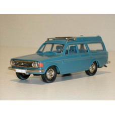 Volvo 145 Express 1973 blauw Rob Eddie 1:43 RE15a