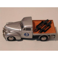 Volvo PV61 pickup zilvergrijs metallic Aerotransport Rob Eddie RE30a 1:43