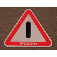 Sticker deur 1203249 Volvo 240 260 reflecterend 3M portier
