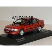 Volvo S40 2000 rood metallic Minichamps 1:43