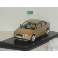 Volvo S40 2008 matte gold metallic Motor Art 1:43