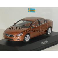 Volvo S60 2010 koper metallic Motor Art 1:43