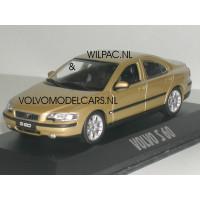 Volvo S60 2000 maya gold metalic Minichamps 1:43