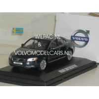 Volvo S80 2009 Executive blauw metallic Motor Art 1:43