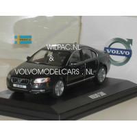 Volvo S80 2009 antraciet / zwart metallic Motor Art 1:43