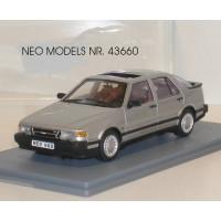 SAAB 9000 Turbo zilvergrijs metallic NEO 1:43
