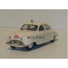 SAAB 92 Monte Carlo Rally 1950 wit Somerville #119 1:43