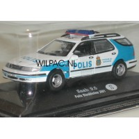 SAAB 9-5 Estate Stockholm Verkeerspolitie POLIS Junior 1:43