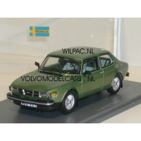 SAAB 99 Turbo 1978 groen metallic NEO 1:43