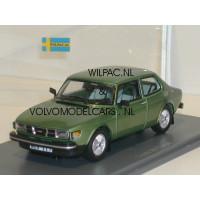 SAAB 99 Turbo 1978 groen met. NEO