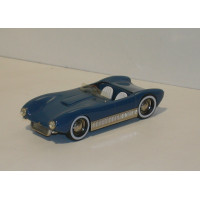 SAAB Sonett 1 I cabrio 1955 blauw Tin Wizard 1:43