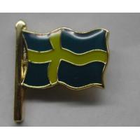 PIN Zweedse vlag