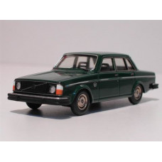 Volvo 244 240 1975 donkergroen Tin Wizard 1:43