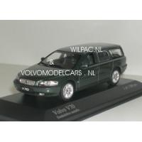 Volvo V70 2000 donkergroen metallic Minichamps 1:43