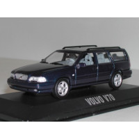 Volvo V70 1998 donkerblauw metallic Minichamps 1:43