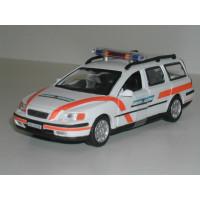 Volvo V70 2000 Polizei Graubunden Zwitserse Politie Altaya 1:43