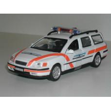 Volvo V70 2000 Polizei Zwitserse Politie Altaya 1:43